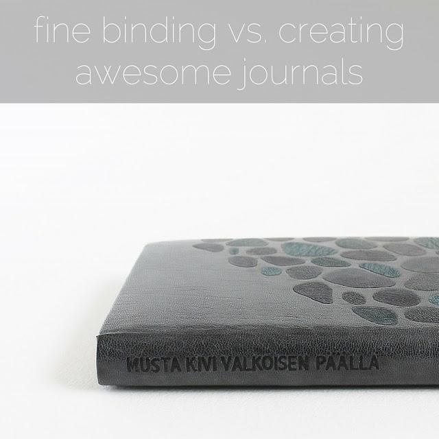 Fine binding of Musta kivi valkoisen päällä by César Vallejo, bound by Kaija Rantakari in 2008 / paperiaarre.com