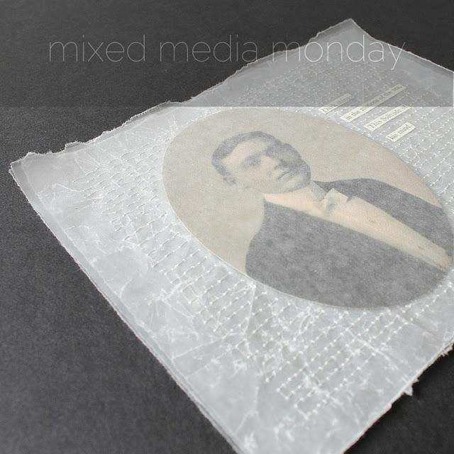 Dark Things - mixed media collage by Kaija Rantakari / paperiaarre.com