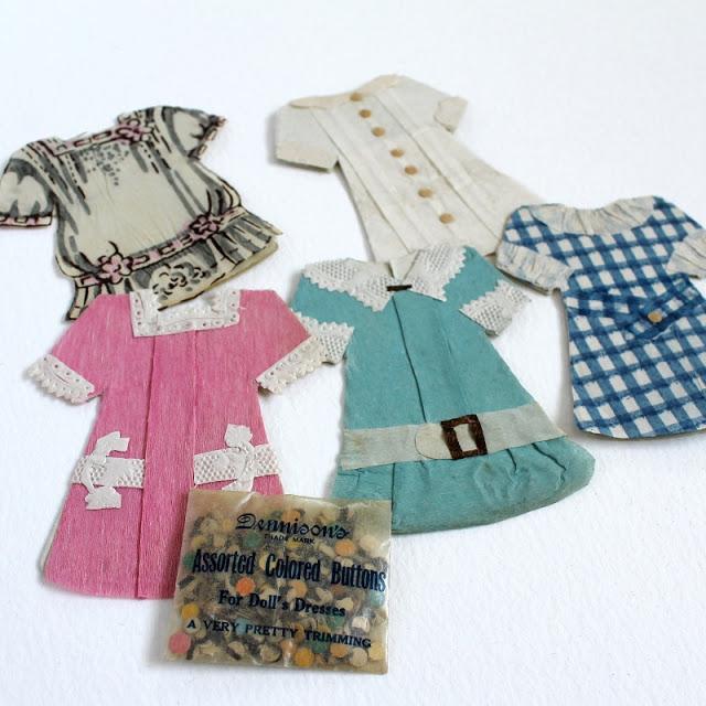 vintage paper dolls - paperiaarre.com