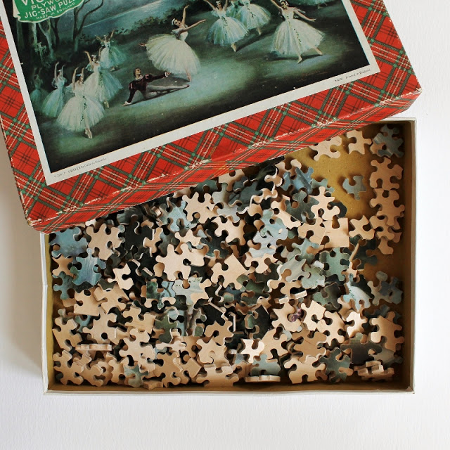 vintage puzzles from my collection - paperiaarre.com