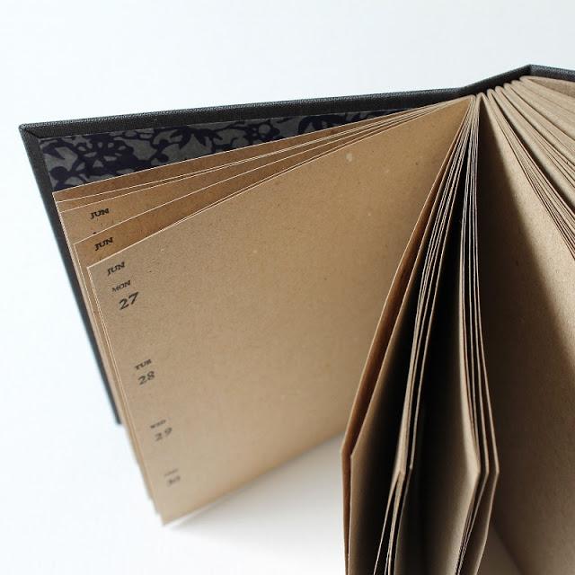my long stitch bullet journal - by Kaija Rantakari / paperiaarre.com