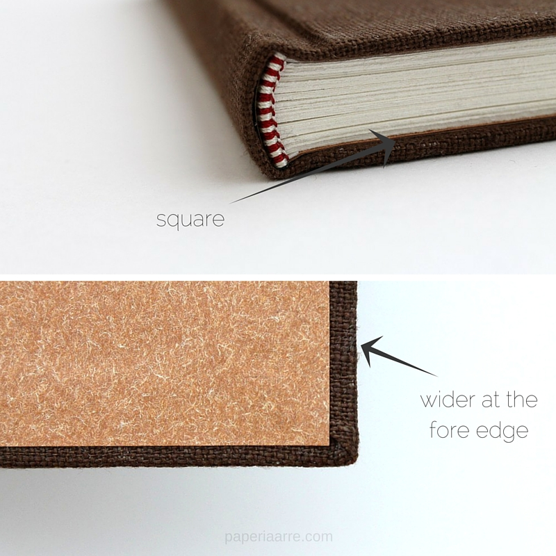 7 tips for more professional looking handmade books paperiaarre bookbinding tips squaresg solutioingenieria Choice Image