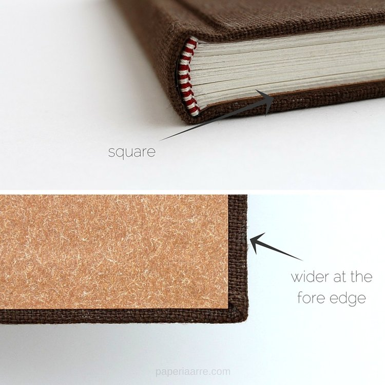 7 tips for more professional looking handmade books paperiaarre bookbinding tips squaresg solutioingenieria Gallery