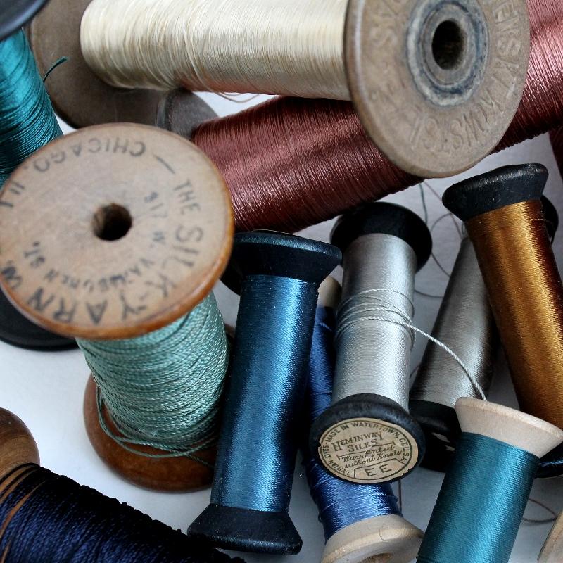 vintage spools - paperiaarre.com
