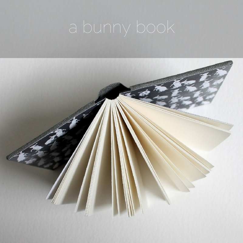 the bunny notebook by Kaija Rantakari / paperiaarre.com