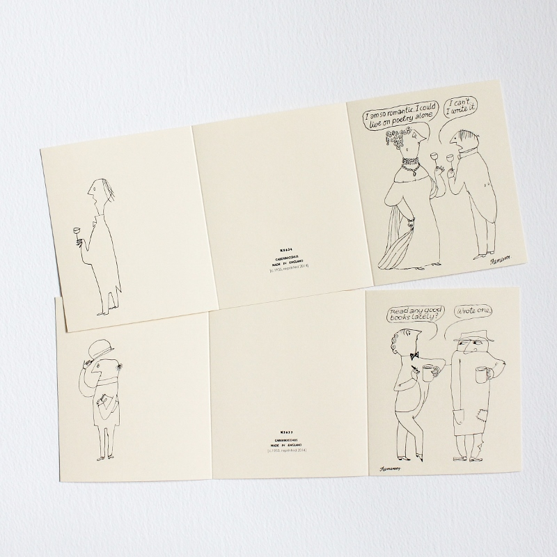 Illustrations by Franciszka Themerson - cards from the bookartbookshop - London