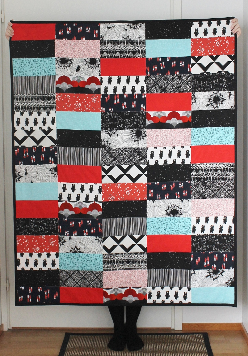 A quilt for a darling baby - www.paperiaarre.com