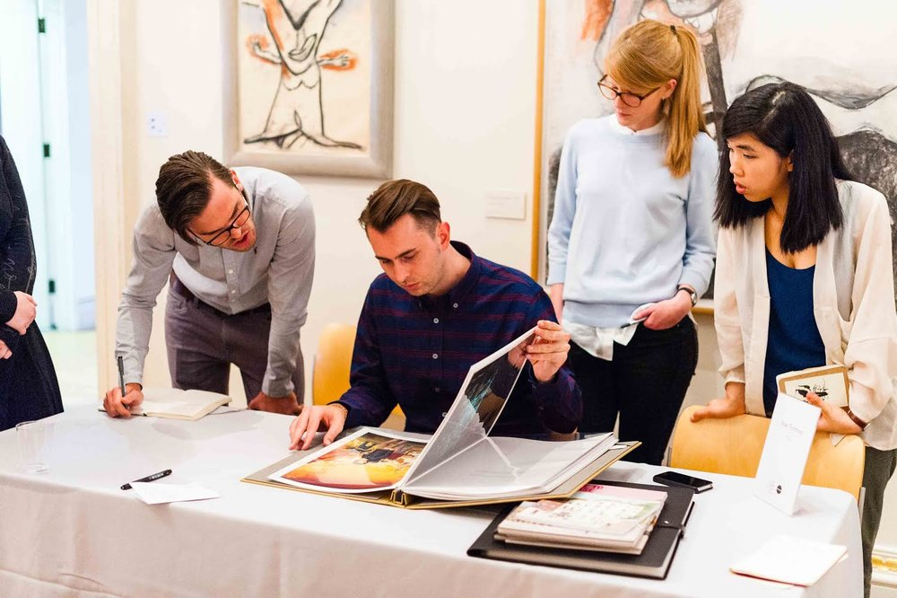 Portfolio Reviews - The Royal Academy, London