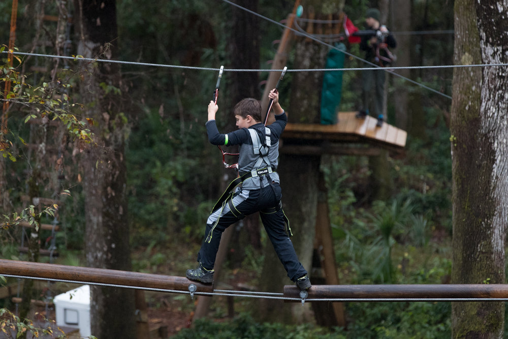 ALL Hernando County Middle School Students climb FREE from December 24, 2017 - January 7, 2018 with promo code FREEMS   - - TICKETED CHAPERONE MUST CLIMB WITH JUNIOR TICKET HOLDER- Student must show school ID or proof of enrollment- Discount valid for adventures from 12/24/2017 - 1/7/2018 - Free tickets are valid for TreeUmph! Adventure Course in Brooksville only- Applicable to regularly priced tickets only, cannot be combined with any other discounts or promotions