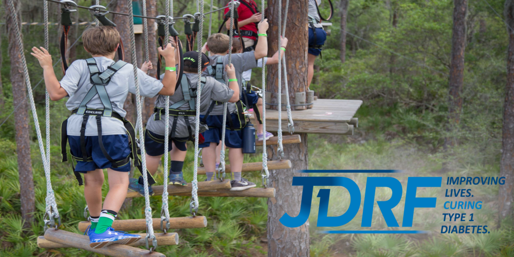 Exclusive Event for JDRF Type 1 Teens on June 10th, 2018. - Adventure will begin promptly at 10:00am.  Please plan to arrive for check in 15 minutes early.Questions?  Please call (941) 322 - 2130