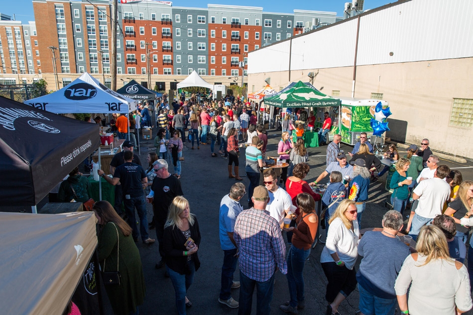 Over 20 Breweries! - New this year-half pours, wine and crushes!Too many breweries to list here!