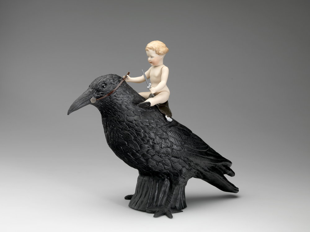 Riding the crow
