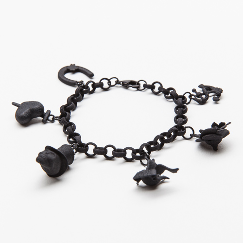 True Tattoo Bracelet (black)