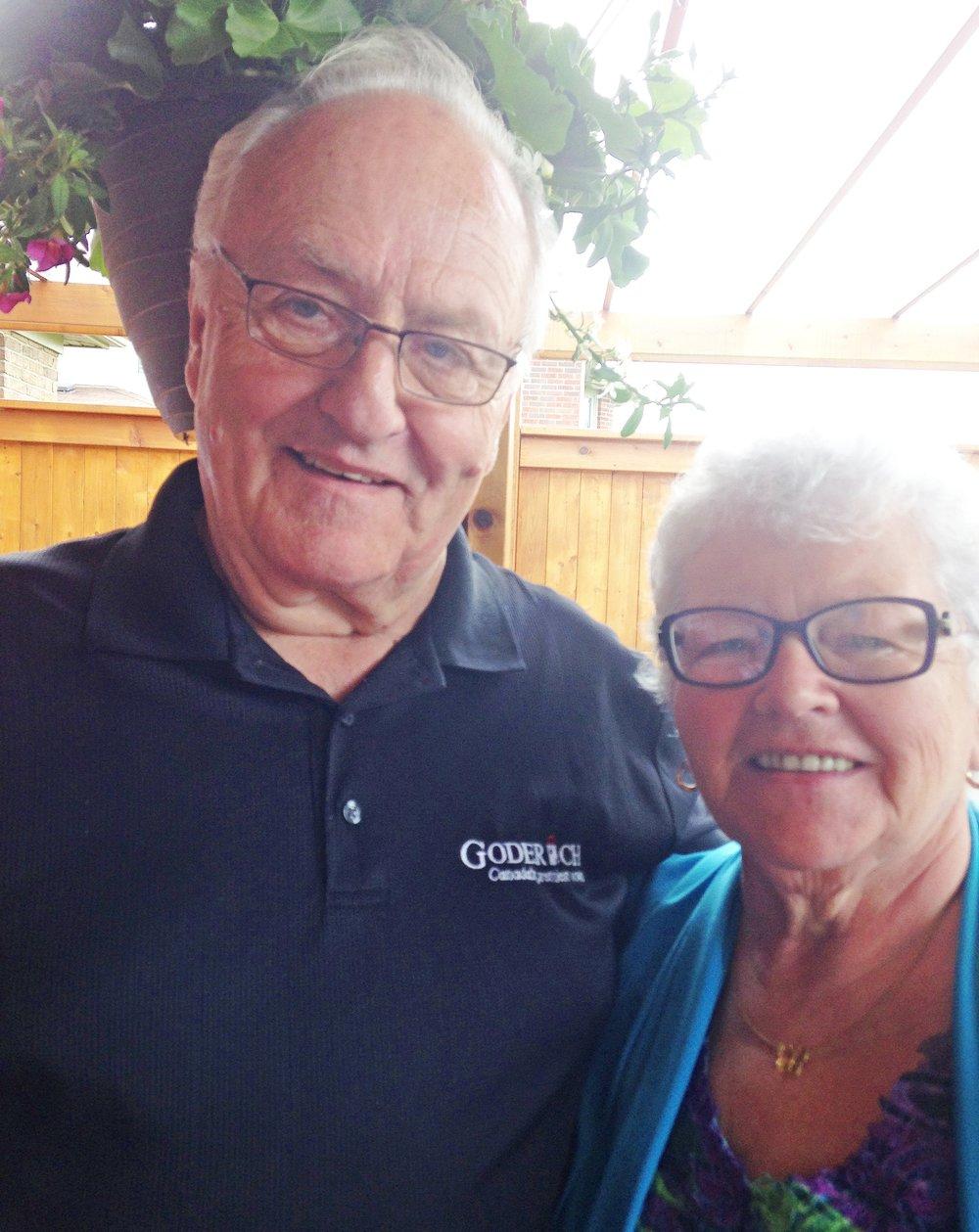 Ron & Gail Allin, Goderich, Ontario, Canada