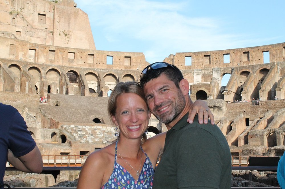 Loved every minute in the Colosseum