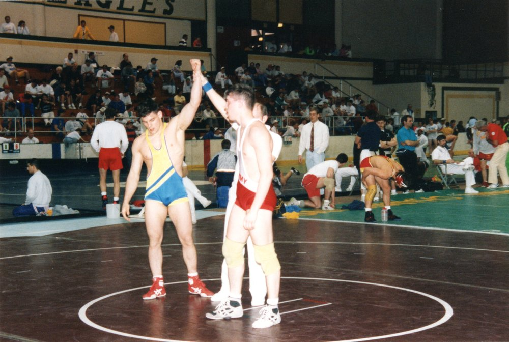 A throw-back to my wrestling days
