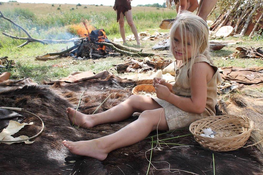 Loving the Stone Age life