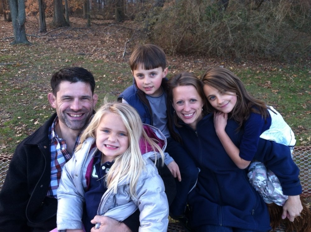 One of my favorite family photos - shot by my brother on Thanskgiving at the park on an iPhone. Just pure happiness
