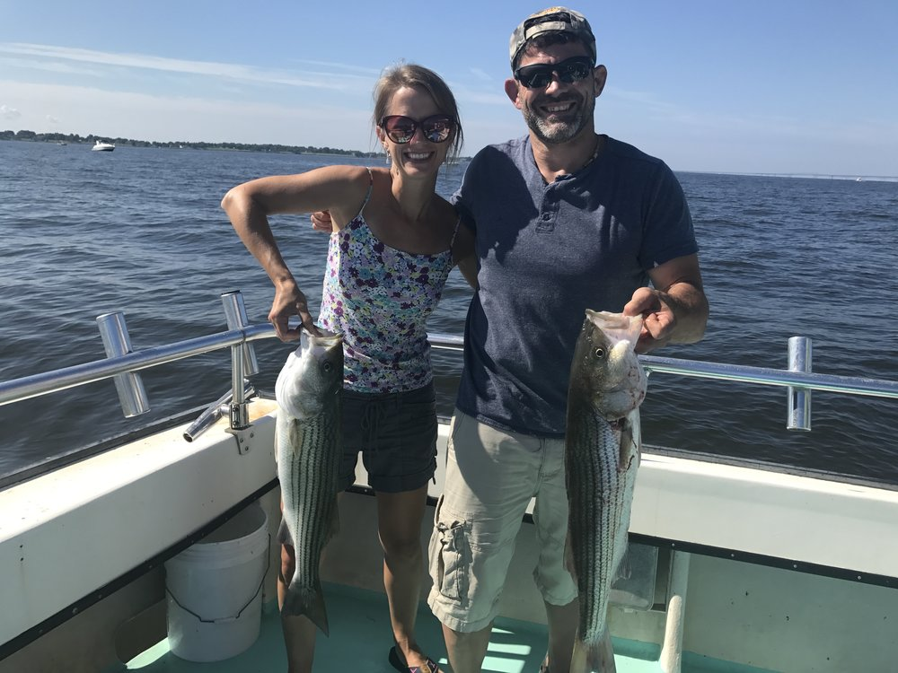 Fishing in the Chesapeake Bay!!