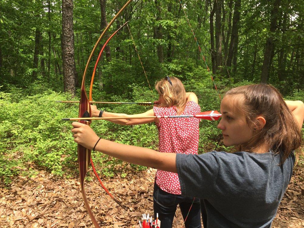 Man, I love to shoot a bow