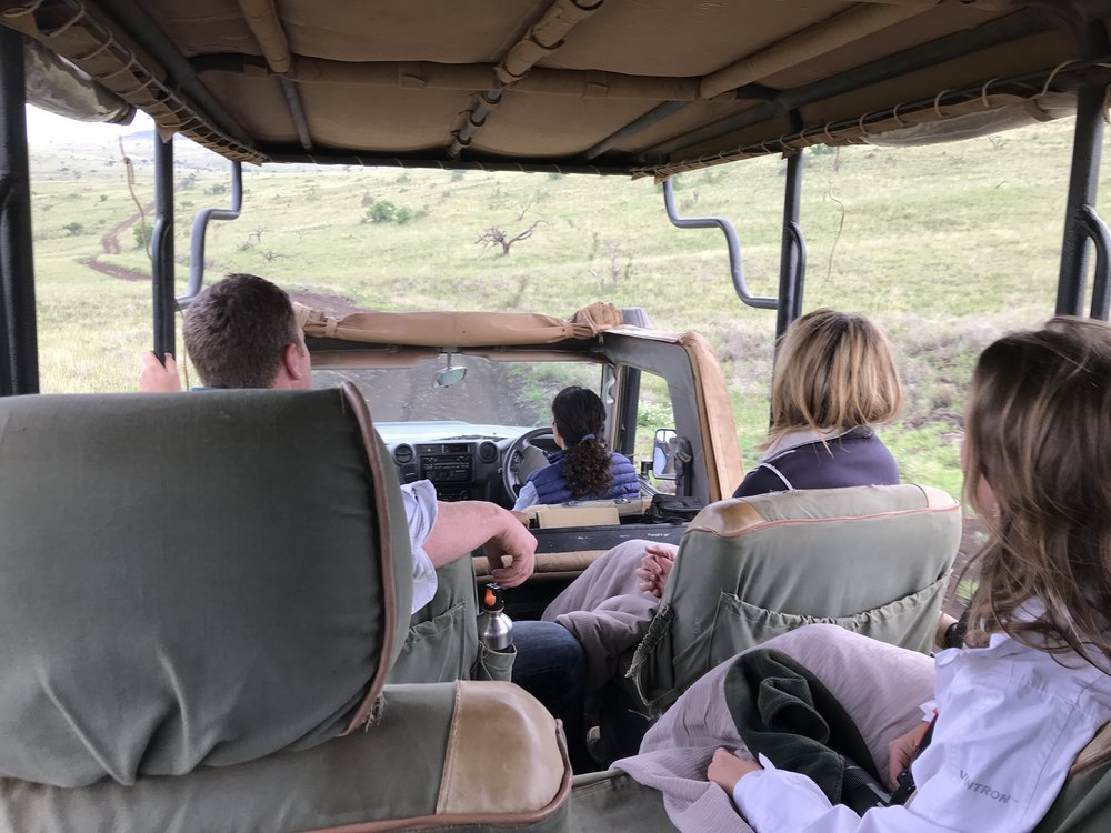 This is how we rolled at Lewa
