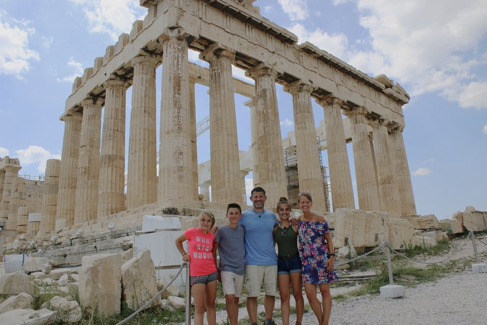 Family in Athens