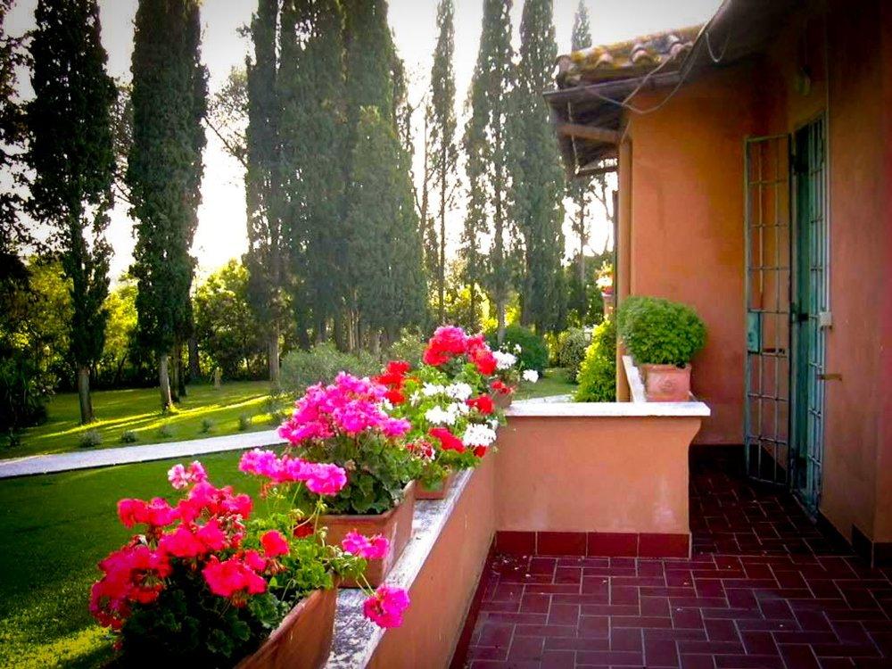 Ezedra terrace