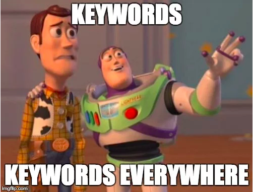 SEO pitfalls keywords