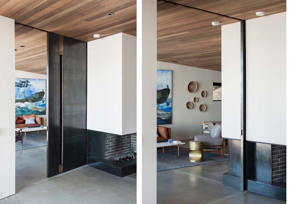 Shelter House Sliding Door & Shelter House Sliding Door \u2014 Modern Organic Architecture