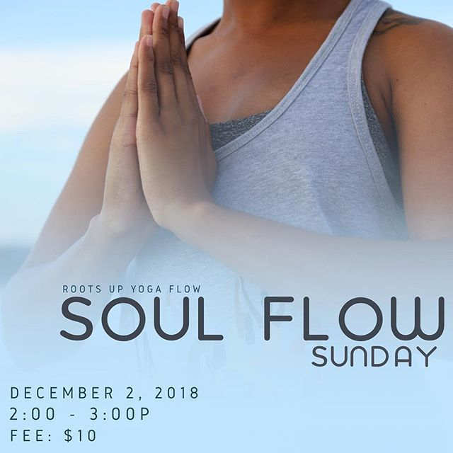 A slow flow vinyasa session to the soulful sounds of RnB that will warm your body and your soul. Join us on Sunday, December 2 at 2pm for this all levels session. Extra yoga mats available. Fee: $10. ========= #yogaeverywhere #sandiegoyoga #yoga #lemongrove #sdyoga  #yogacommunity #californiayoga #yogalife #yogaforall #yogaforeverybody #igyoga #igyogacommunity #namaste #yogapractice #colorsofyoga #shadesofhealth #melaninandyoga #blackgirlsrock #blackgirlyoga #blackyogini #yogapath #yogisofcolor #namaslay #blackyogasuperstars #blackownedyogastudio #blackownedbusiness #yogapractice #soulflow #positivevibes