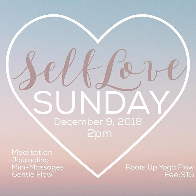 This session is focused on cultivating self-love. 🥰Join us as we connect the mind and the body through meditation, journaling, massage and a gentle yoga flow on Sunday, December, 9 at 2:00 pm. Be reminded of your greatness. Feel the love radiate from your heart space. For this 90-minute session, bring a journal, a small object that represents you, yoga mat and blanket. Extra yoga mats and blankets will be available.  Mini-massages provided by Robert Carroll of FitbyRob.pro  Fee:$15 ========= #yogaeverywhere #sandiegoyoga #yoga #lemongrove #sdyoga  #yogacommunity #californiayoga #yogalife #yogaforall #yogaforeverybody #igyoga #igyogacommunity #namaste #yogapractice #colorsofyoga #shadesofhealth #melaninandyoga #blackgirlsrock #blackgirlyoga #blackyogini #yogapath #yogisofcolor #namaslay #blackyogasuperstars #blackownedyogastudio #blackownedbusiness #yogapractice #selflove #positivevibes