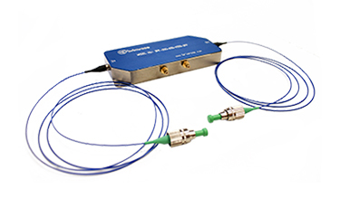 Fiber-coupled Acousto-Optic Frequency Shifters
