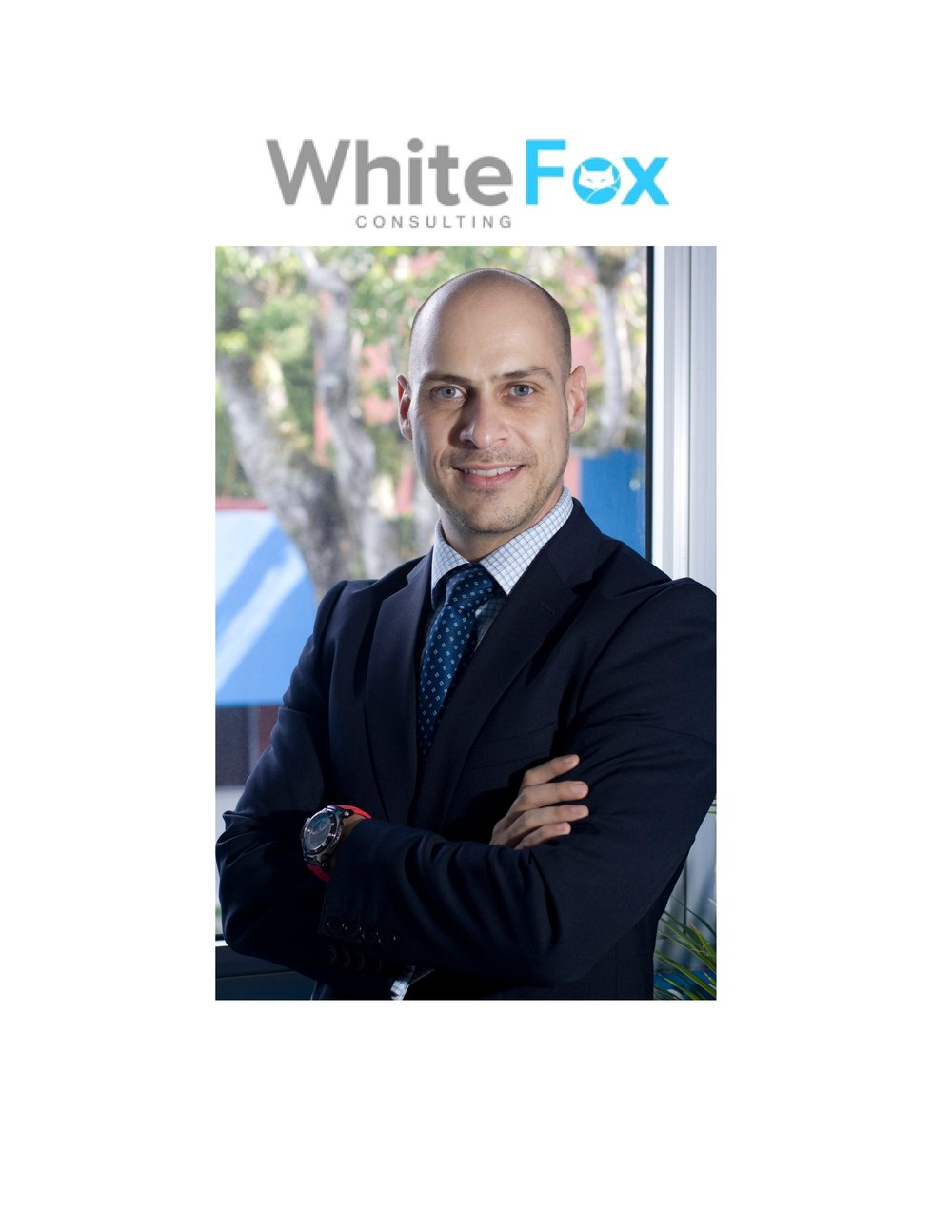 Mr. Ramón Candel, CEO and founder of White Fox Consulting.