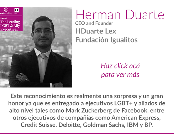 Herman Duarte Financial Times Outstanding