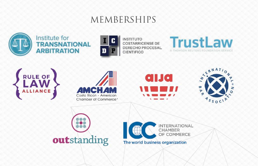 Membresias-HduarteLEX-IBA-AIJA-ICC-Costa-Rica-AMCHAM-Costa-Rica-Rule-Of-Law-Alliance-ITA-Transanational-Arbitration-Outstanding-Involve-