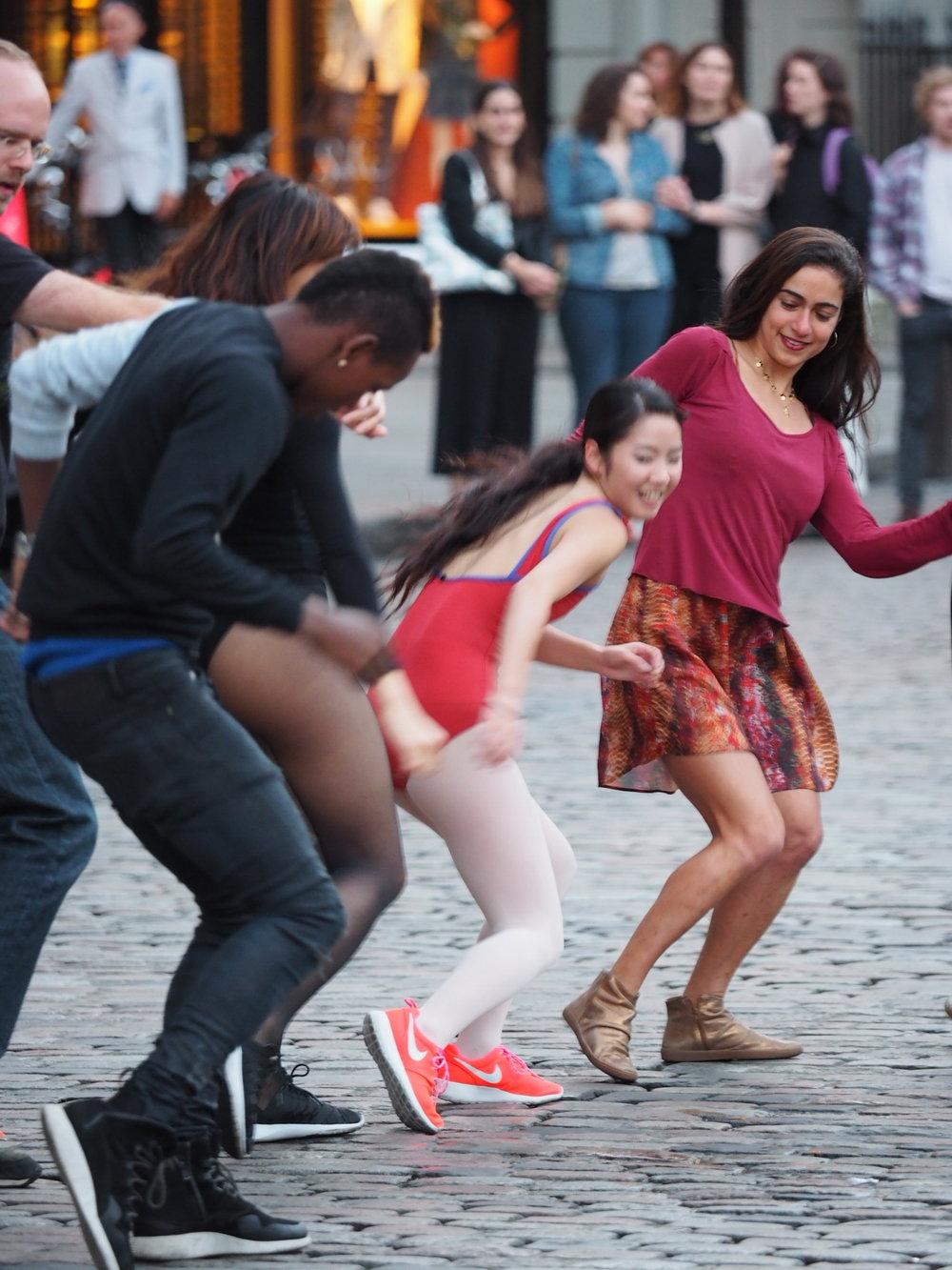 Dance Performance for ArtNight 2016