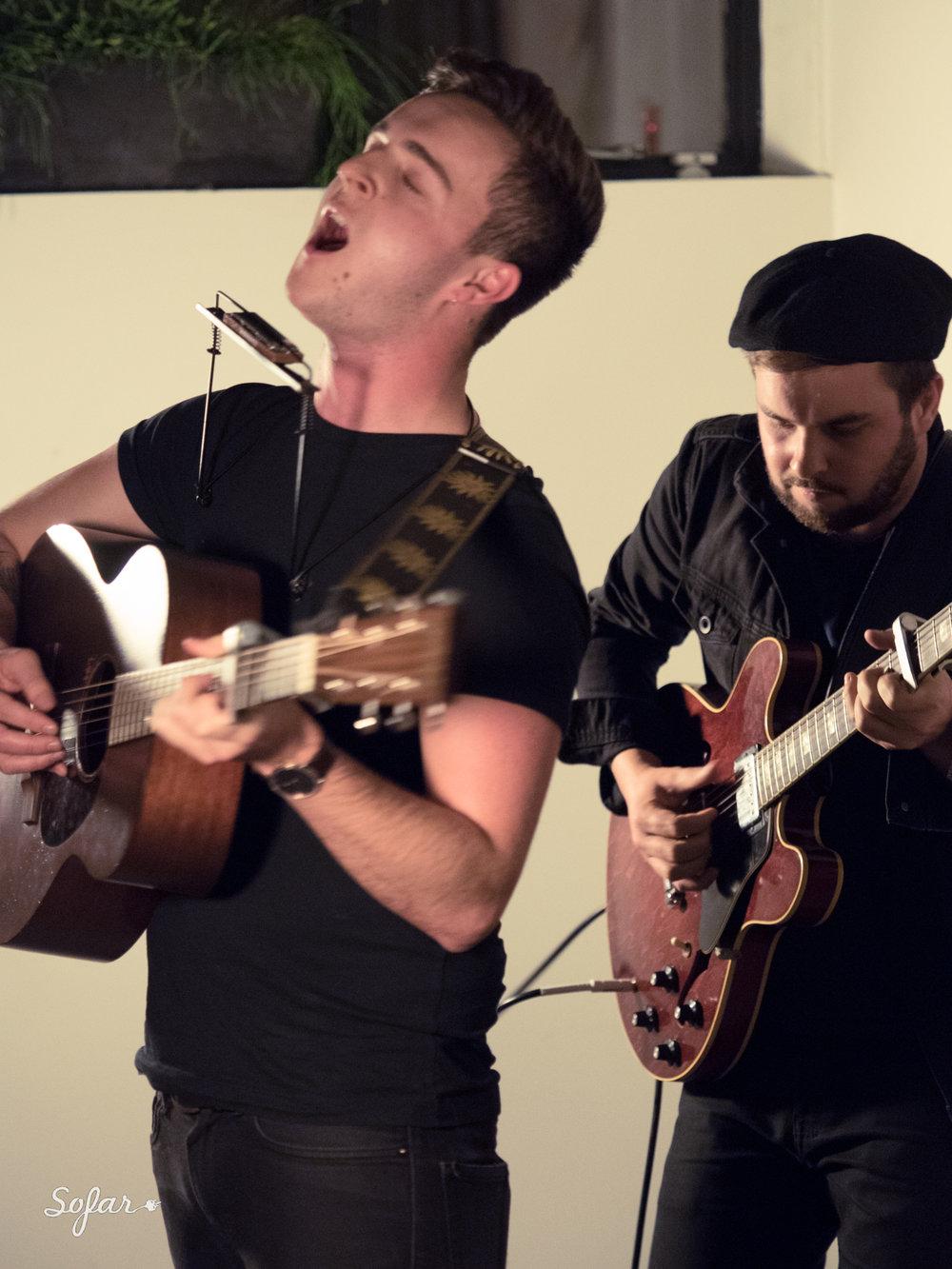 Sofar Sounds @ Black & White, Shoreditch