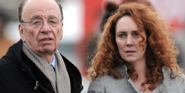 Wielding the axe: Rupert Murdoch and Rebekah Brooks