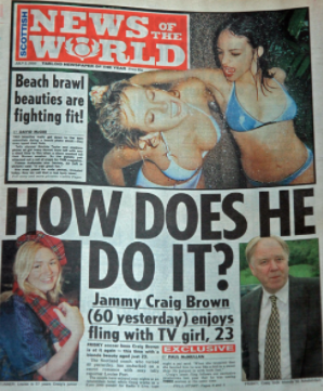 Victims: ex-Scotland Manager Craig Brown and friend Louise Port