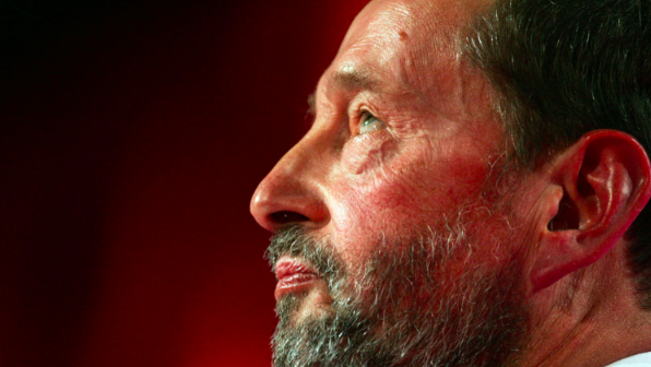 Victim: Former Home Secretary David Blunkett