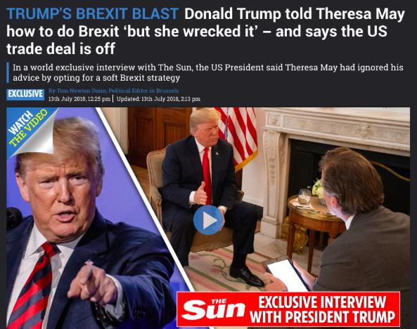 Fake? Trump thinks so…