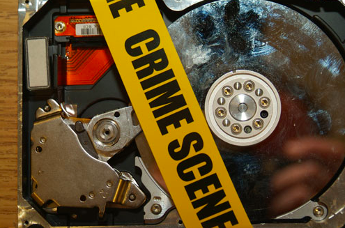 S tock image of an impounded computer hard-drive (c) cpcc.edu