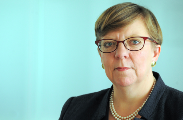Scrutiny: Former Director of Public Prosecutions Alison Saunders announced a review of existing hacking evidence on January 14, 2011