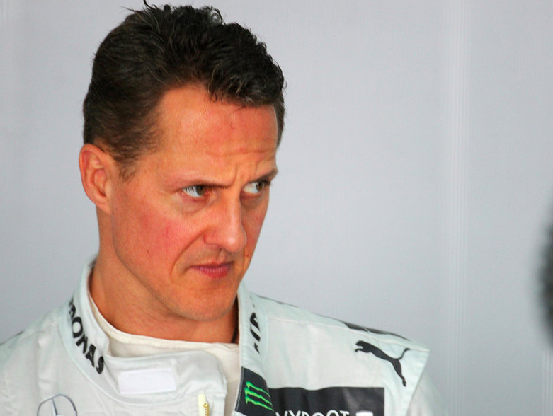 Targeted: Michael Schumacher