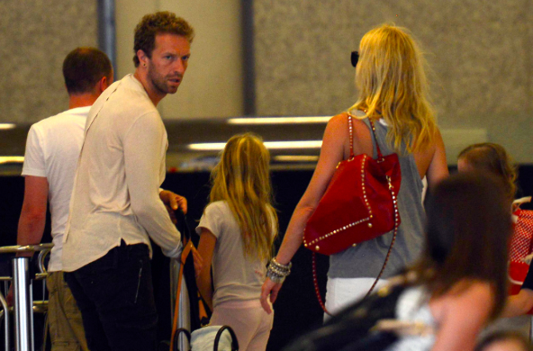 Tabloid hacking targets: Chris Martin and ex-wife Gwyneth Paltrow (c) PA