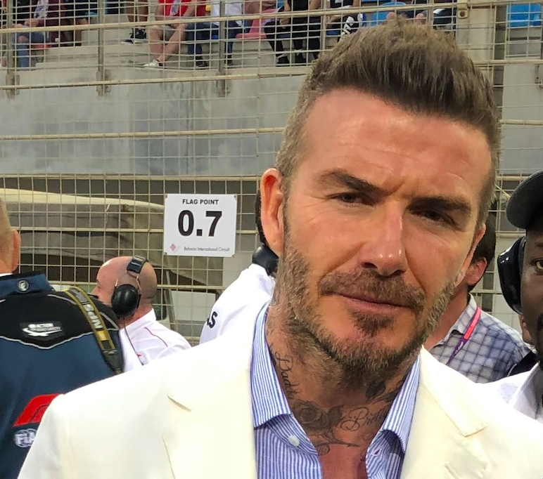 Simon Bayliff, formerly agent to David Beckham, pictured above at the 2019 Bahrain Grands Prix, received compensation today over illegal surveillance by Rupert Murdoch's newspapers. (c) PA