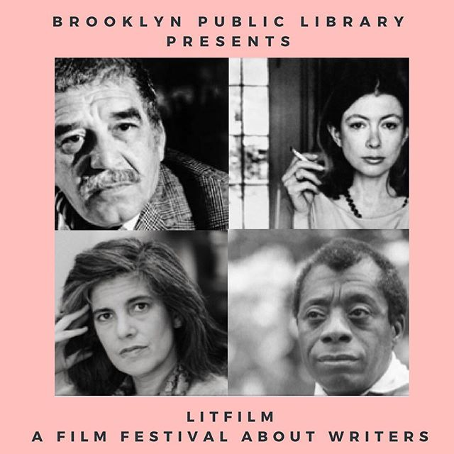 From February 20-25, get an inside look at the private lives and artistic processes of James Baldwin, William S. Burroughs, Mahmoud Darwish, Joan Didion, Diane di Prima, Vaclav Havel, Gabriel García Márquez, Arthur Miller, Yukio Mishima, Susan Sontag, Alice Walker and more through inspiring documentaries and films ranging from the 60s to now. All films are free: visit the Brooklyn Library website to register!