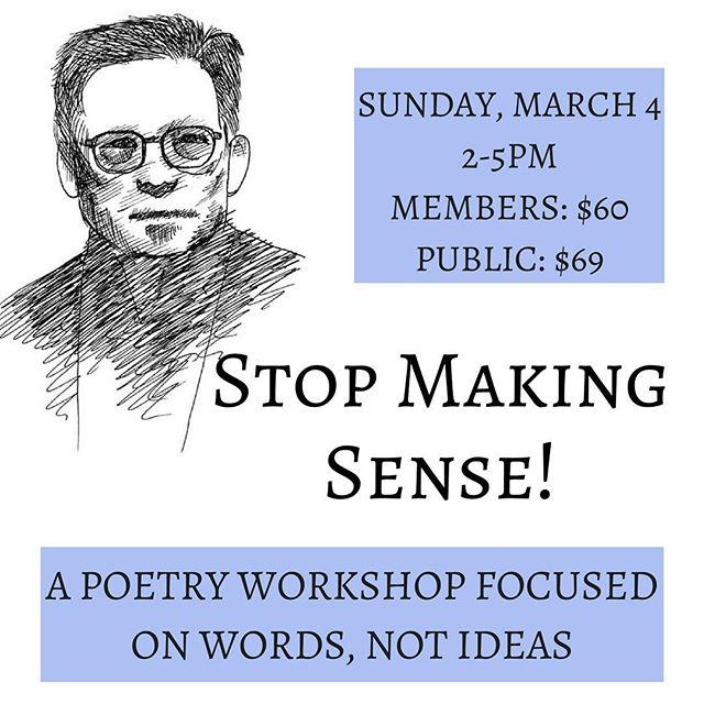 On Sunday, March 4th, poet Luis Francia will be teaching a workshop all about arriving at (rather than predetermining) meaning in your poetry. In addition to being a poet, Luis is a nonfiction writer and playwright--not to mention the winner of both the PEN Open Book and Asian American Writers literary awards. Sign up on the JCC website and come create nonsense that actually makes sense! #poetry #newyorkwritersworkshop #newyorkwriters #newyorkpoetry