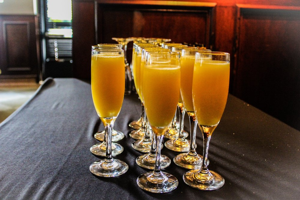 It isn't brunch without mimosas