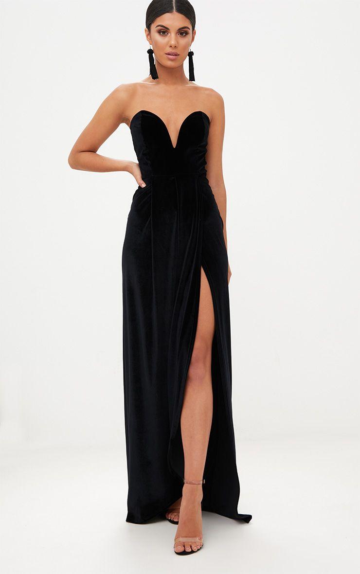 PLL Velvet Drape Dress- $35